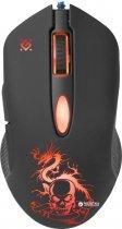 Миша Defender Sky Dragon з ігровою поверхнею GM-090L USB Black (52090) - зображення 4