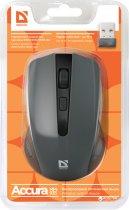 Мышь Defender Accura MM-935 Wireless Grey (52936) - изображение 4
