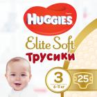 Трусики-подгузники Huggies Elite Soft Pants 3 (M) 25 шт (5029053546964) - изображение 1