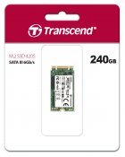 Transcend MTS420S 240GB M.2 2242 SATAIII 3D NAND TLC (TS240GMTS420S) - изображение 2