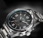 Мужские спортивные кварцевые часы Weide Standart Silver 1506 - изображение 9