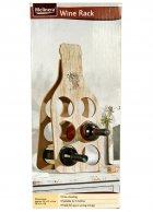 Утримувач пляшок декоративний 22*51*2 см Melinera беж-коричневий M18-270819 - зображення 3