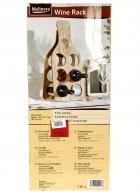 Утримувач пляшок декоративний 22*51*2 см Melinera беж-коричневий M18-270819 - зображення 4