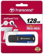 Transcend JetFlash 810 128GB USB 3.1 Black-Blue (TS128GJF810) - зображення 4
