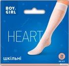 Гольфы Boy & Girl Heart 20 Den 20-22 р Белые (4820040298740) - изображение 2
