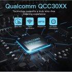 Бездротові двухдрайверные TWS навушники Syllable S115 Bluetooth 5.0 aptX - зображення 5