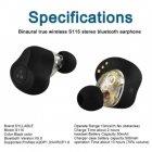Бездротові двухдрайверные TWS навушники Syllable S115 Bluetooth 5.0 aptX - зображення 7