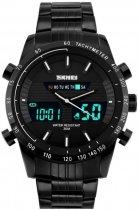 Мужские часы Skmei 1131 BK-White BOX (1131BOXBKWH) - изображение 1