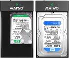 """Зовнішня кишеня Maiwo для HDD/SSD 3.5""""/2.5"""" SATA через USB3.1 Type-C (K3568G2) - зображення 6"""