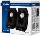 Акустическая система Sven 300 Black - изображение 6