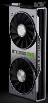 NVIDIA PCI-Ex GeForce RTX 2060 Super Founders Edition 8GB GDDR6 (256bit) (1470/14000) (DVI, HDMI, 2 x DisplayPort) (900-1G160-2560-000) - зображення 3