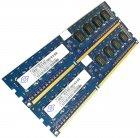 Пара оперативної пам'яті Nanya DDR3 4Gb (2Gb+2Gb) 1333MHz PC3 10600U 1R8 CL9 (NT2GC64B88B0NF-CG) Б/У - зображення 2