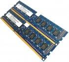 Пара оперативної пам'яті Nanya DDR3 4Gb (2Gb+2Gb) 1333MHz PC3 10600U 1R8 CL9 (NT2GC64B88B0NF-CG) Б/У - зображення 3