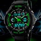 Чоловічі годинники Skmei S-Shock Green 0931 - изображение 4