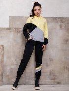 Спортивный костюм ISSA PLUS SA-112 M Черный с желтым (2001012268837) - изображение 1