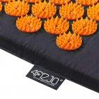 Коврик акупунктурный 4FIZJO Аппликатор Кузнецова 72 x 42 см 4FJ0041 Black-Orange (SKL41-227763) - изображение 4