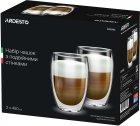 Набор чашек Ardesto с двойными стенками для латте 450 мл х 2 шт (AR2645G) - изображение 1