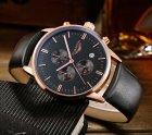 Мужские классические кварцевые часы Guanquin Digit Black 8801 - изображение 5
