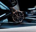 Мужские классические кварцевые часы Guanquin Digit Black 8801 - изображение 6
