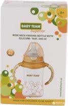 Бутылочка для кормления Baby Team с температурным индикатором 240 мл (1090) - изображение 4
