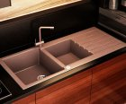 Гранітна мийка Smart House Grand brown - зображення 1