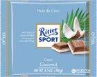Молочный шоколад Ritter Sport с начинкой кокосово-молочный крем 100 г (4000417298003) - изображение 1