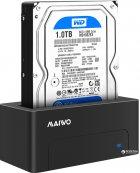 """Док-станція Maiwo для HDD 2.5""""/3.5"""" SATA/SSD USB 3.0 (K308P) - зображення 6"""