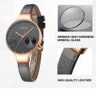 Часы женские CIVO 8094C | Leather Band Gray (1146684) - изображение 6