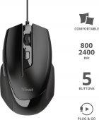 Мышь Trust Voca Comfortable USB Black (TR23650) - изображение 5