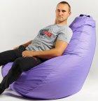 Крісло мішок груша 150х100 см Бузок - зображення 2