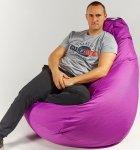 Крісло мішок груша 150х100 см Фіолет - зображення 2