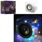 Колонка куб Metr plus 12,5 см аккумулятор bluetooth, MP3, 2 режима света, USB зарядка (SG-1741C ) - изображение 1