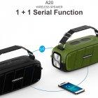 Портативная беспроводная Bluetooth колонка Hopestar A20 Pro 55Вт Green с влагозащитой IPX6 и функцией зарядки устройств (A20G) - изображение 5