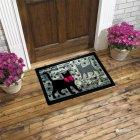 Придверний килимок IzziHome Italyan Format Siyah Kediler 40x68 (2200000541994) - зображення 3