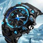 Чоловічий спортивний кварцовий годинник Skmei Hamlet Blue 1155B - изображение 3