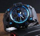 Чоловічий спортивний кварцовий годинник Skmei Hamlet Blue 1155B - изображение 5