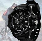 Чоловічий спортивний водостійкий годинник Skmei Resist 0990 - изображение 4