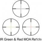 Оптичний приціл Barska Level 6-24x56 мм (IR MOA R/G) + кільця (925759) - зображення 3