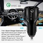 Автомобильное зарядное устройство XoKo CQC-200 2USB Qualcom 3.0 6A Black (CQC-200-BK) - изображение 3