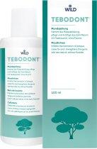 Ополаскиватель для полости рта Dr. Wild Tebodont с маслом чайного дерева без фторида 400 мл (7611841701655) - изображение 2