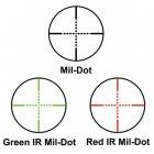 Приціл оптичний Barska AR6 Tactical 1-6x24 (IR Mil-Dot R/G) - зображення 6
