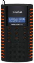 Портативный цифровой радиоприемник TechniSat TECHNIRADIO Solar на солнечной батарее Черно-оранжевый (0001/3931) - изображение 1