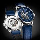 Мужские классические механические часы Oubaer Night Blue 8902 - изображение 1