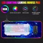 Игровая поверхность с подсветкой 800х300х4мм INTEKO RGB ВСЕЛЕННАЯ - изображение 3