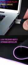 Игровая поверхность с подсветкой 800х300х4мм INTEKO RGB ВСЕЛЕННАЯ - изображение 4