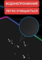 Игровая поверхность с подсветкой 800х300х4мм INTEKO RGB ВСЕЛЕННАЯ - изображение 5