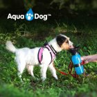 Дорожня поїлка для собак Aqua Dog 537 мл Блакитна (2000992389907) - зображення 6
