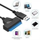 Адаптер Kotion Each USB 3.0 - SATA 22pin 0.23 м Black (CC-U3TS3-B) - зображення 4