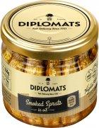 Шпроти Diplomats ризькі в олії 250 г (4750010492826) - зображення 1