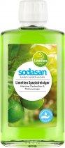 Органічний очисник-концентрат Sodasan Lime для видалення складних забруднень 0.25 л (4019886014021) - зображення 1